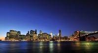 Night view of Manhattan Stock photo [1846860] New