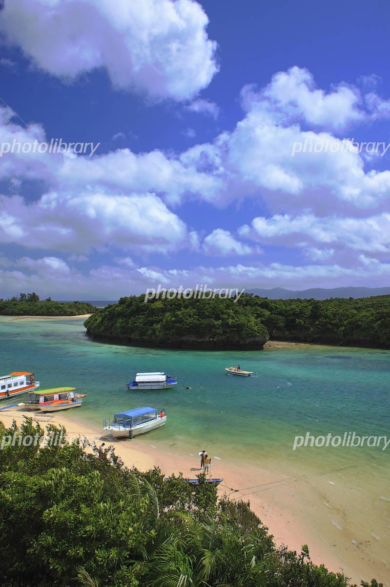 Okinawa Ishigaki of Kabira Bay Photo