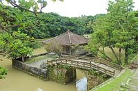 Shuri Castle park circle Kan pond Stock photo [1949123] SHURI