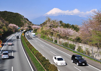 Spring Tomei Expressway Stock photo [1956597] Mt.