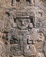 Chichen Itza ruins relief Stock photo [1960730] Chichen