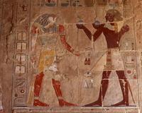 Relief of Hatshepsut Hatshepsut sun god Ra Stock photo [1960772] Hatshepsut
