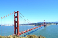 Golden Gate Bridge Stock photo [2055317] Golden