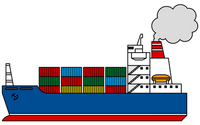 Container ship [2055367] Container