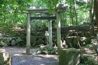 Kyoto Kono-sha Mihashira Torii Stock photo [2058089] Torii
