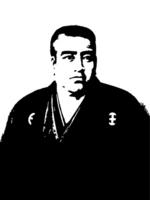 Monochrome Takamori portrait [2060287] Saigo