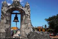 Bell of Mexico Campeche / land Gate Stock photo [2156251] Bell