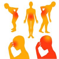 Low back pain, headache, eyestrain [2156495] Low