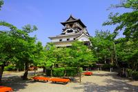 National Treasure Inuyama Castle Stock photo [2159616] Aichi