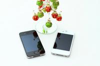 Smartphone and tree figurine Stock photo [2159808] Smartphone