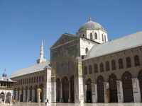 The world's oldest mosque, Umai Yad mosque Stock photo [2164260] Omayad