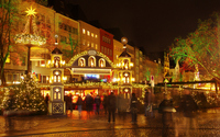 At Christmas market of entrance Germany Cologne Stock photo [2165218] Christmas