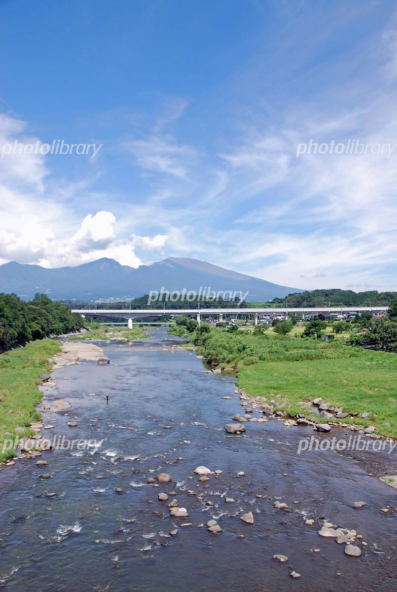 浅間山と千曲川 写真素材 [ 2295640 ] - フォトライブラリー photolibrary