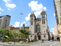 Landscape and the surrounding Brazil Sao Paulo Old Town S達o Bento church Stock photo [2284361] Brazil