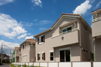 Emerging residential area Stock photo [2284590] Residential