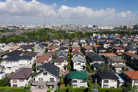 Cityscape of residential area Stock photo [2284720] Residential