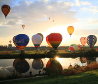 Saga International Balloon Fiesta 2012 Stock photo [2288420] Saga