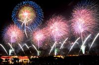 Tsuchiura Fireworks Stock photo [2290053] Fireworks