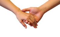 Hold hands Stock photo [2292013] Hand