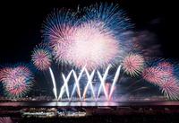 Naniwa Yodogawa fireworks Stock photo [2294165] Fireworks