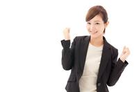Women guts pose Stock photo [2294214] Happy