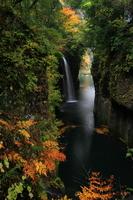 Autumn of Takachiho Gorge Stock photo [2294952] Miyazaki