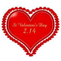 Heart Roses Valentine frame [2296222] Hart