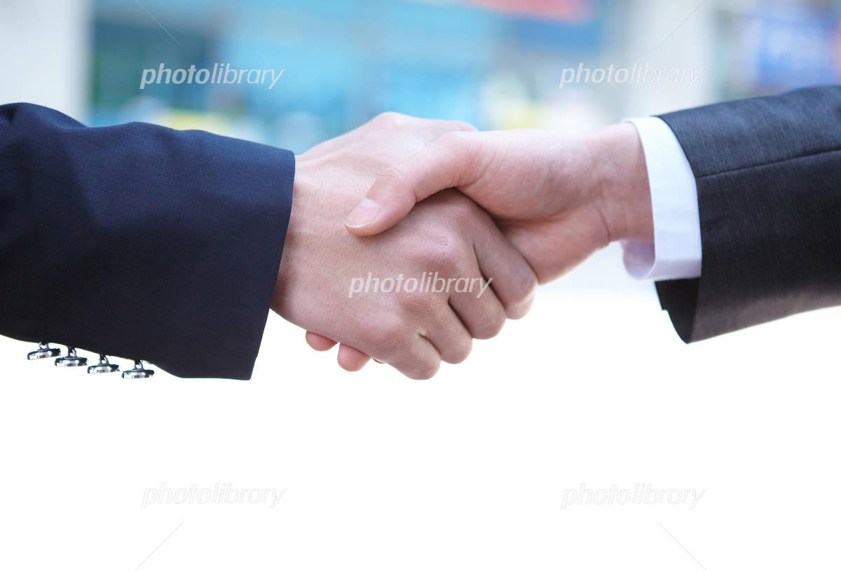 Business image handshake Photo