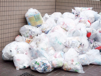 Garbage dump Stock photo [2413945] Garbage
