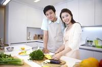 Couple to cook Stock photo [2425539] Family