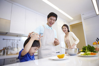 Family cooking Stock photo [2425556] Family
