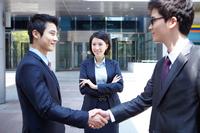 Businessmen shaking hands Stock photo [2425674] Business