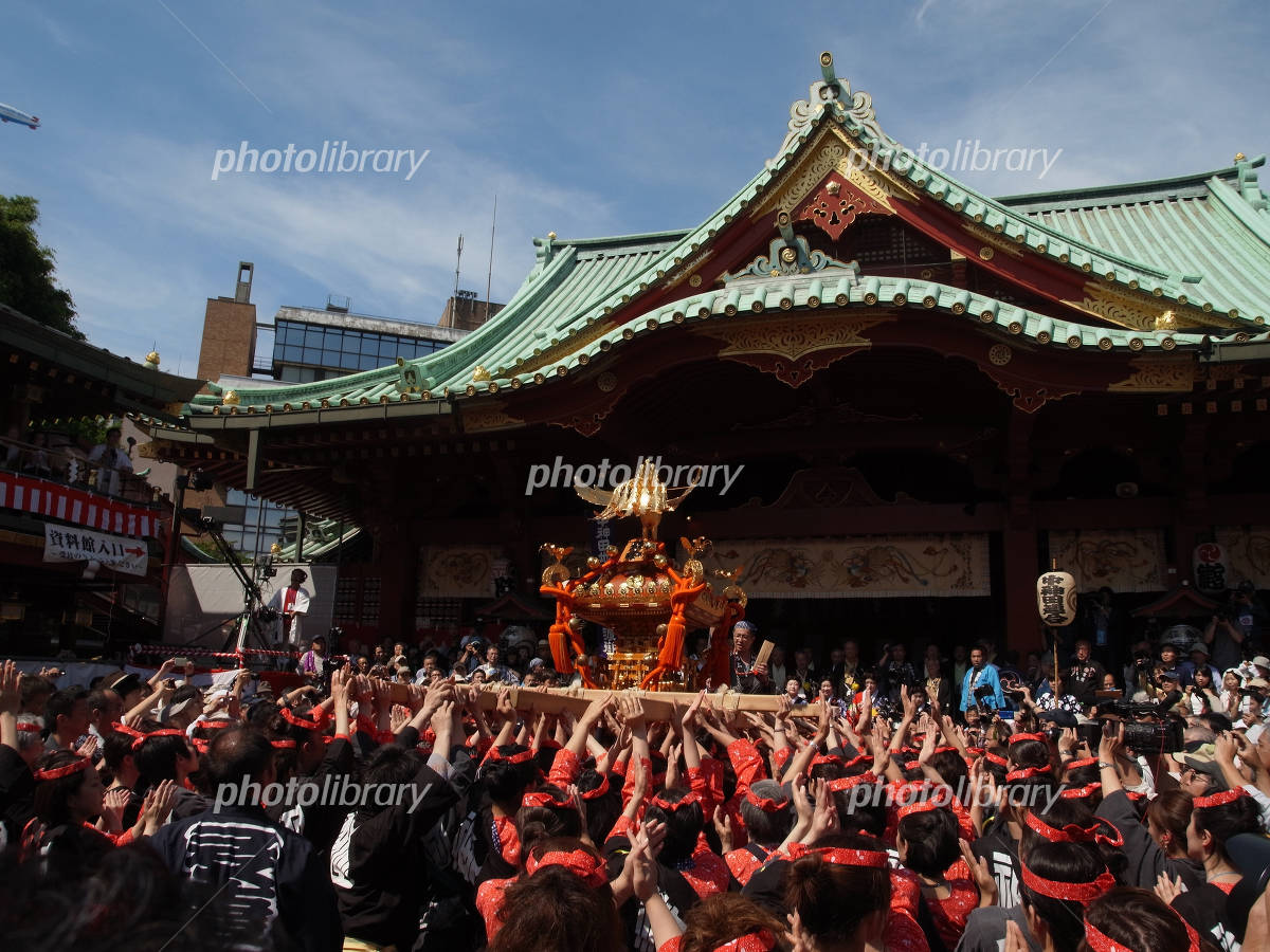 At Kanda Festival Kanda Myojin in Photo