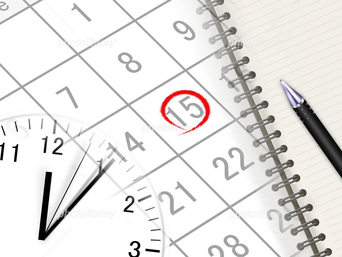 ビジネス スケジュール カレンダー イラスト素材 [ 2544082 ] - フォトライブラリー photolibrary