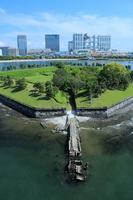 Odaiba park from Rainbow Bridge Stock photo [2529678] Green