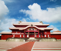 Shuri Castle Tadashi stock photo