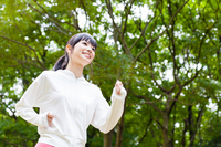 Woman jogging Stock photo [2532069] Female