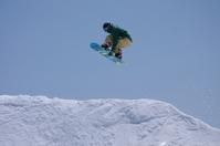 Snowboard spine jump Stock photo [2533128] SNOWBOARD