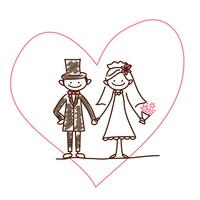 Bride and groom [2542043] Wedding