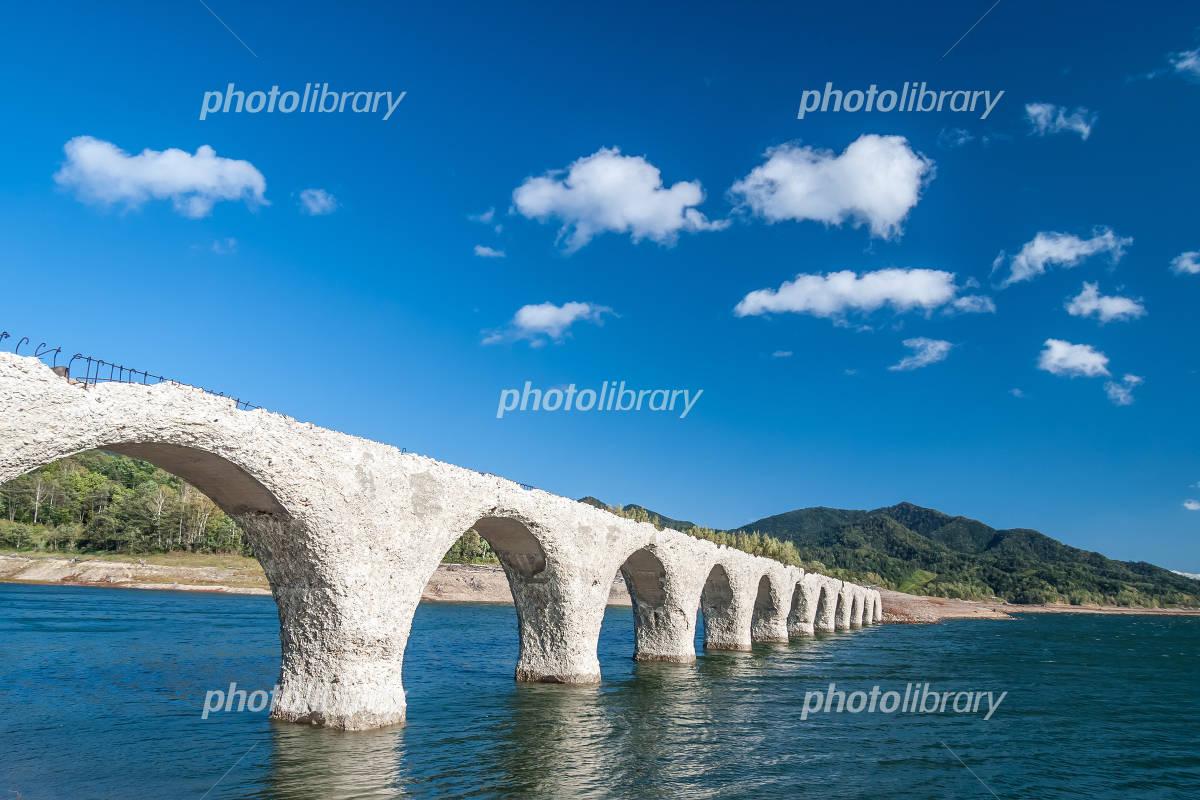 "Hokkaido heritage ""Taushubetsu bridges"" Photo"