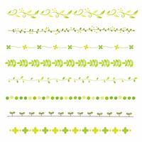 Green line set [2647375] Line
