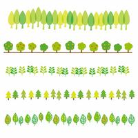 Tree line set [2647379] Line