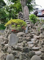 Fujizuka of Kuwagawa shrine in Edogawa Stock photo [2650880] Kuwagawa