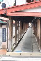 Kuroishikomise as traditional buildings Stock photo [2653663] Street