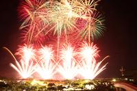Okinawa fireworks Ryukyu Ocean flame Festival Stock photo [2654767] Ryukyu