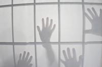Shadow of shoji and human hand Stock photo [2656445] Shoji