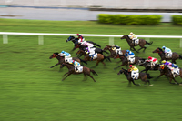 Hong Kong horse racing Stock photo [2657863] Hong