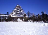 Tsuruga Castle Stock photo [3347] Fukushima