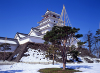 Tsuruga Castle Stock photo [3348] Fukushima