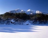 Winter Goshiki-NUMA Stock photo [3349] Fukushima